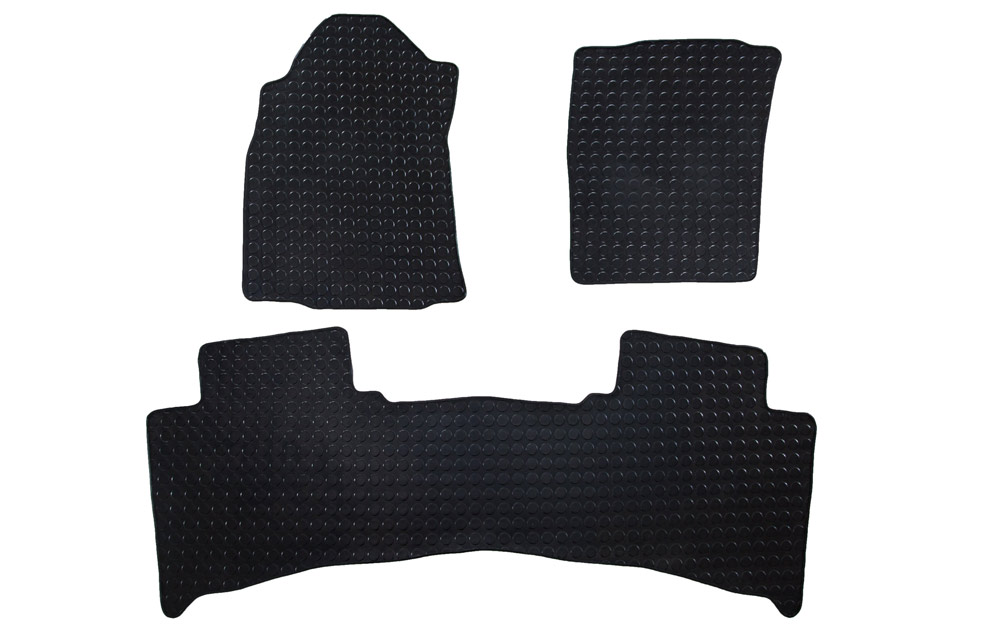 Toyota Fortuner BootMat without seat cutouts