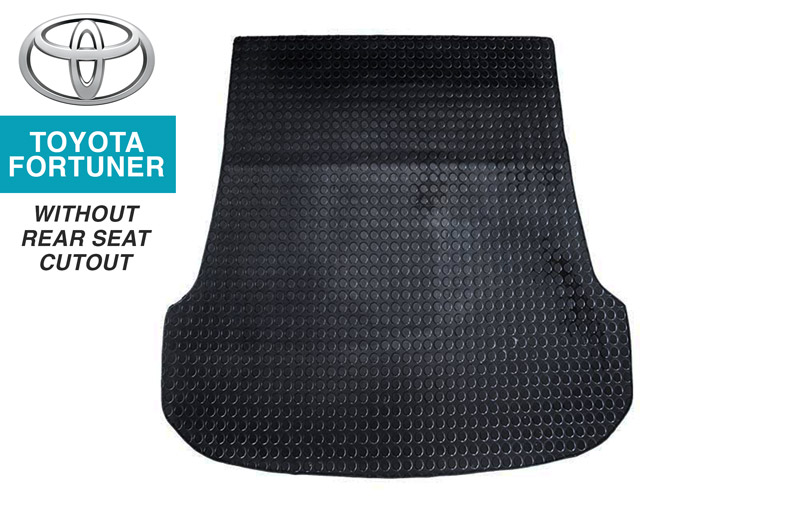 Toyota Fortuner Boot Mat 1 (no rear-seat cutout)