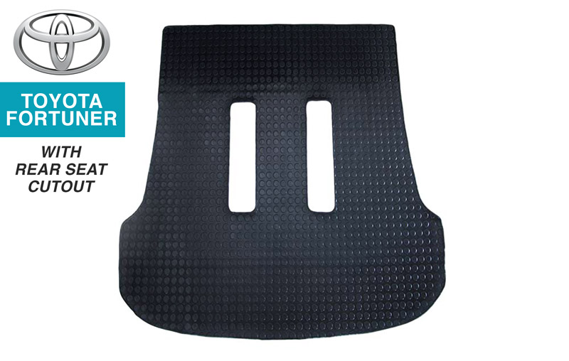 Toyota Fortuner Boot Mat 2 (with rear-seat cutout)