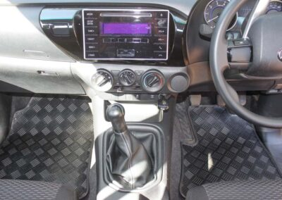 Toyota Hilux BinMat and Floormats-5