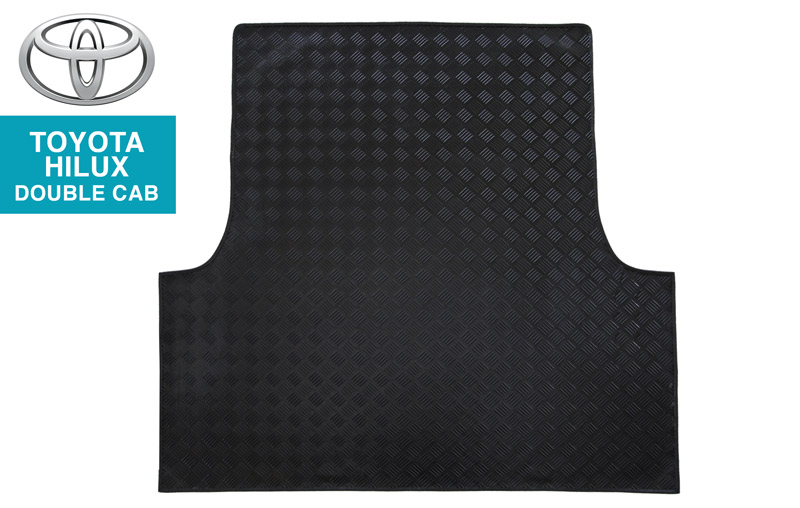 Toyota Hilux Checkerplate Bin Mat
