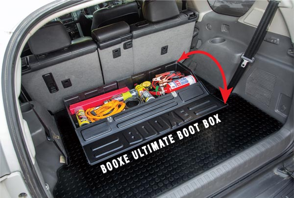 BOOXE Ultimate Boot Box – For any SUV & Medium to Large Vehicles