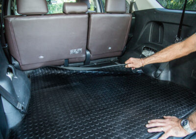 BOOXE Boot Mat in Toyota Fortuner