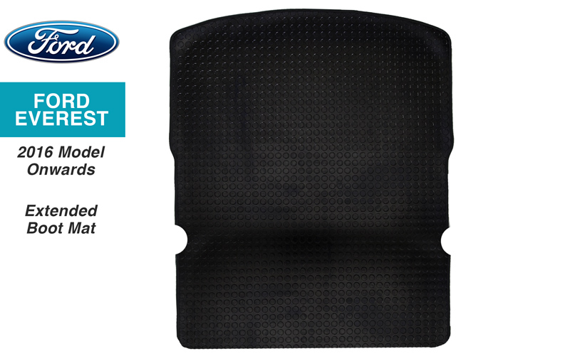 Ford Everest Boot Mat Extended