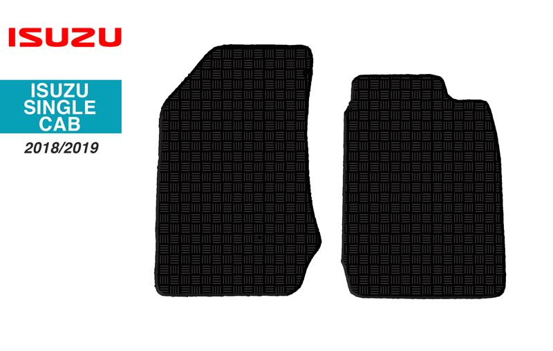 Isuzu KB Single Cab Floor Mats 18/19